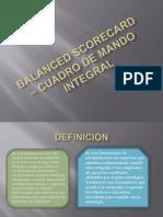 Balanced Scorecard _ Cuadro de Mando Integral