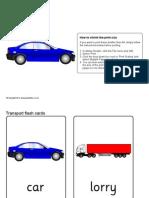 Flashcards Transports 1