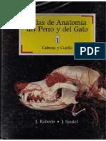 Atlas Anatomia Perro Gato I