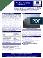CC_BP Factsheet_biogas Plant Landfrisch Creamery