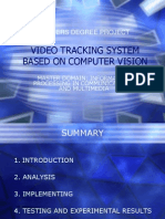 Video Tracking System Based on Computer Vision