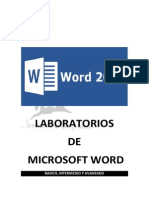 Laboratorios de Word 2013