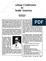 1990 Issue 9 - Appalachian Conference to Rebuild America - Counsel of Chalcedon