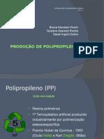 Produção de Polipropileno