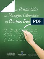 Guía Prl en Centros Docentes