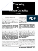 1991 Issue 2 - Witnessing to Roman Catholics - Counsel of Chalcedon