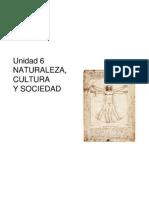 Tema 6 Naturaleza Cultura Sociedad