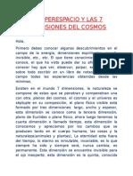 EL HIPERESPACIO Y LAS 7 DIMENSIONES DEL COSMOS.doc