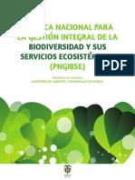 Politica Gestión Biodiversidad