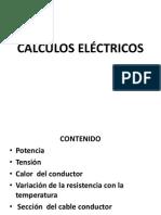 Cálculos de Potencia y Tensión