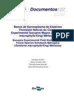 Banco Germoplasma Esp Florestasi