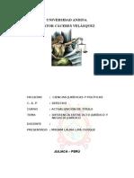 Acto y Negocio Jurídico