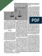 1991 Issue 9 - Cross-Examination