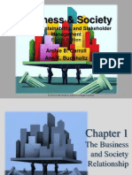 Chapter 1 - The Business and Society Relationship