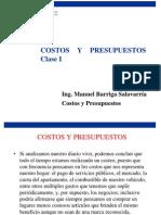 Costos y Presupuestos- Clase 1