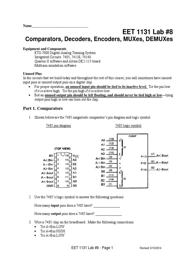 Lab08 Electronic Circuits Electronics
