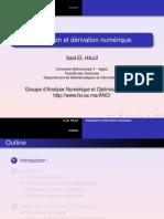 Derivation Integration