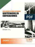 Reglamento para Estudios Geotecnicos, República Dominicana