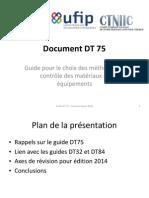 B7 Document DT 75 Rev JdD