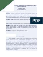 Análisis Lingüístico Del Significado Del Nombre Propio en La Teoría Descriptiva