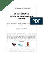 Unidad Didactica 25 Cuestiones Sobre La Orientacion Sexual