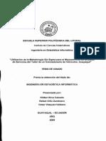 Tesis Consecionario de Vehiculos Titulo Ing Informatica Esc Sup Politec Litoral