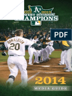 2014 Oakland a's Media Guide_v3