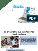 Secuencias Didacticas ESP PRÁCT IV