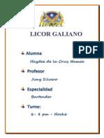 Licor Galiano