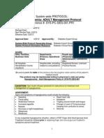 Adult Hypoglycemia Management Protocol