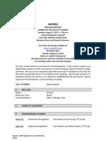 Agenda 08-05-14