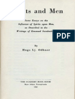 Hugo Lj. Odhner SPIRITS AND MEN Bryn Athyn Pennsylvania ANC 1958 1960