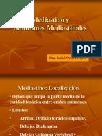 Mediastino y Sindrome Mediastinal