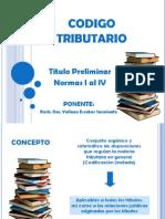 CODIGO TRIBUTARIO - ITEL