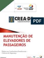 5.Manutencao de Elevadores Francisco Rabello CREA DF