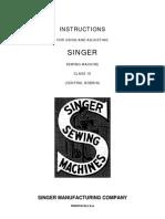 Singer Modelo 16