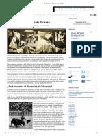 El Fraude Del Guernica de Picasso