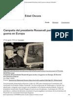 Campaña Del Presidente Roosevelt Para Incitar a La Guerra en Europa _ IRONLIGHT