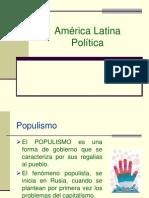 Populismo y Dictaduras Militares