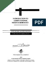 Introduction to Computational molecular biology - Carlos Setubal, Joao Meidanis