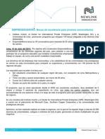 EmprendeAhora - Nota de Prensa Newlink