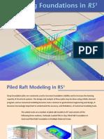 RS3 Pile Raft Modeling