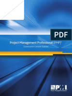 PMP Examination Content Outline