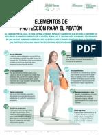 Elementos de Proteccion Para El Peaton