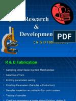 Research & Development in textile