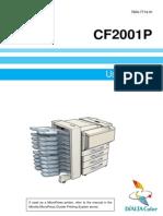 X3eP CF2001P Users Manual