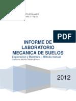 INFORME - Exploración y Muestreo - Método Manual