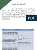 Diapositivas Educsistematica Estrella