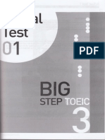 Big Step Toeic 3 - Actual Test 1