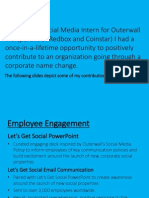 Outerwall Inc. - Internship Recap